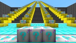 Minecraft PLATINUM LUCKY BLOCK STAIRCASE CHALLENGE #5 with Vikkstar