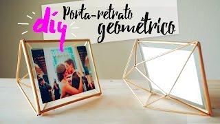 DIY - Porta-retrato Geométrico