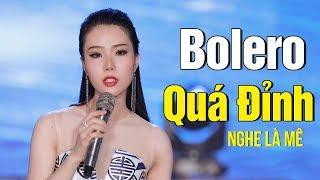 Nhạc Vàng Bolero Xưa Hay Ngây Ngất - Những Ca Khúc Bolero Trữ Tình NGHE LÀ MÊ Thanh Thư Bolero