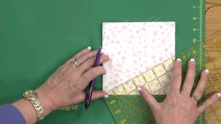 Sew Easy: Cutting Large Circles