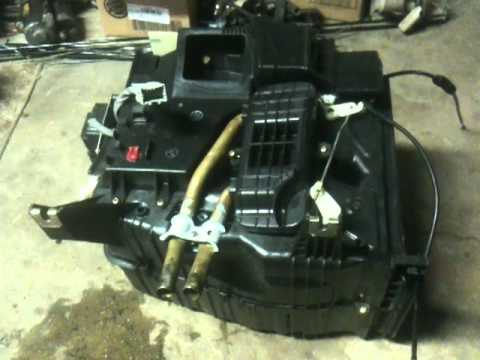 90-93 Honda Accord heater core repair