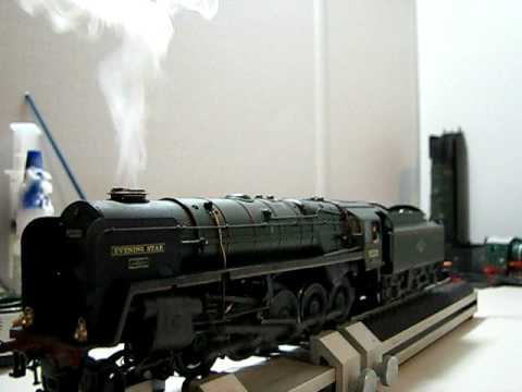 Bachmann 9f Evening Star DCC Sound Lights smoke