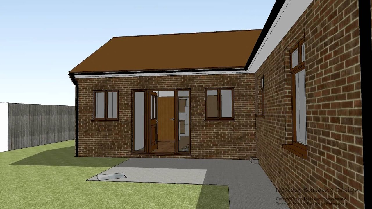 Bungalow Extension Flythrough Youtube