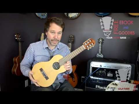Yamaha Guitalele Review - 6-string Nylon Guitalele
