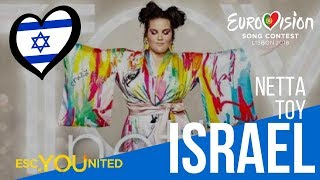 Israel: Netta - Toy (Reaction Video) Eurovision 2018