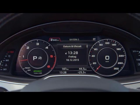 2016 Audi SQ7 TDI - Interior Design Trailer | AutoMotoTV