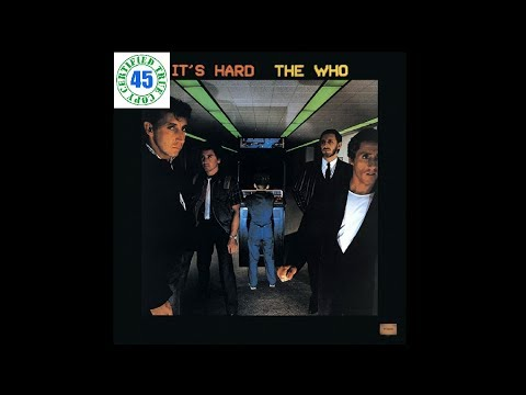 THE WHO - EMINENCE FRONT - It's Hard (1982) HiDef
