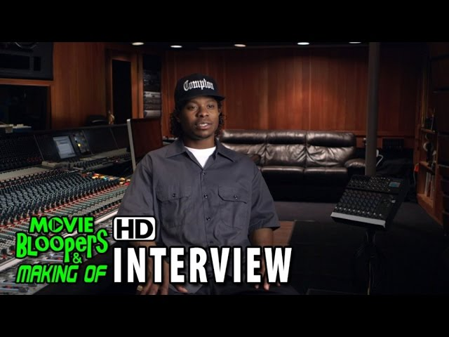 Straight Outta Compton (2015) Behind The Scenes Movie Interviews - Jason Mitchell is 'Eazy-E'