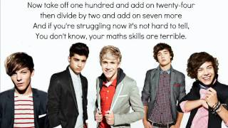 Watch One Direction Math Song video