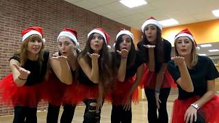 Funny Christmas Belly Dance