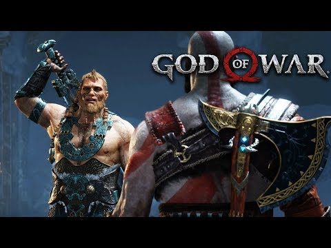 God Of War 12. Os Filhos de Thor Gameplay Português PT BR PS4 PRO