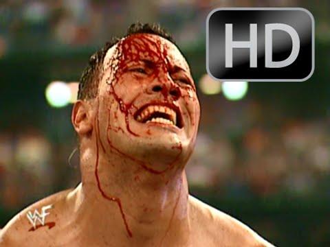 WWE Summerslam 2002 The Rock Vs Brock Lesnar