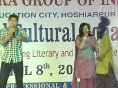 suhani and sahils duet singing on bollywood karaoke songs