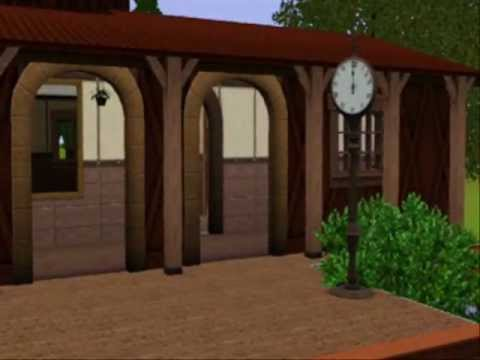 Sunflower Station!  The Sims 3  -  Quxxn Contest 2012