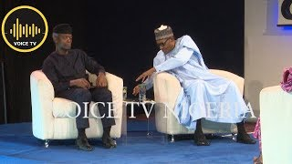 Breaking: Hot Questions Put Buhari, Osinbajo In A Tight Corner