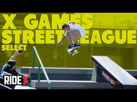 Manny Santiago Wins Street League Select Series at X Games Brazil 2013