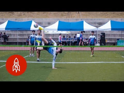 Like Volleyball With Your Feet: The Korean Sport of Jokgu
