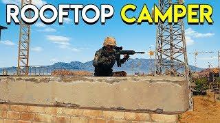 ROOFTOP CAMPER - PlayerUnknown's Battlegrounds (PUBG Duo)