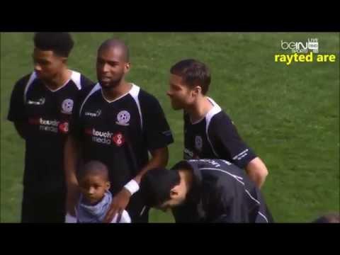 Xabi Alonso Individual Highlights (Gerrard vs Carragher Charity Match)