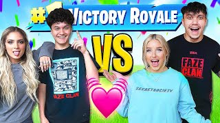 FaZe Jarvis & NEW Girlfriend Vs FaZe Kay & Girlfriend (Fortnite Duos 1v1)
