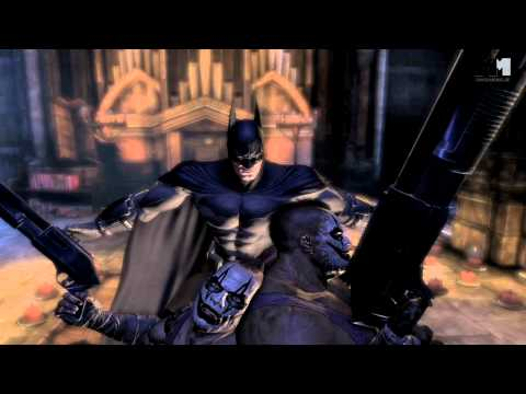 Batman Arkham City   OFFICIAL gameplay trailer (2011) Catwoman Two-Face Harley Quinn
