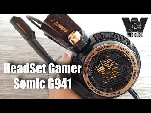 Unboxing & Review Do Somic G941 - O melhor HeadSet Gamer - Custo Benefício - PT-BR