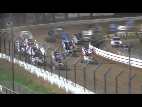 Williams Grove Speedway 410 Sprint Car and Super Sportsman Highlights 04-17-15