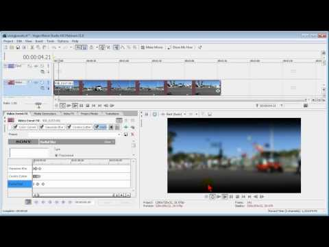 100 free video effects for Sony Vegas Movie Studio and Vegas Pro