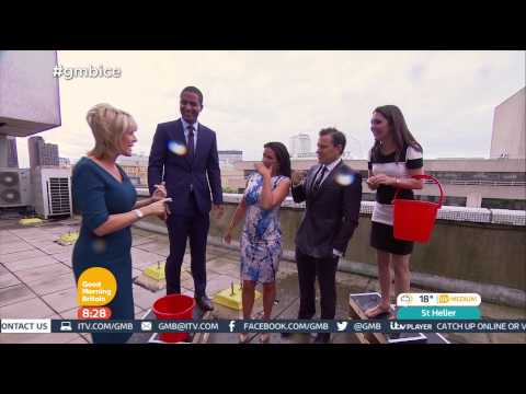 [HD] Good Morning Britain: Susanna and Ben take the Ice Bucket Challenge