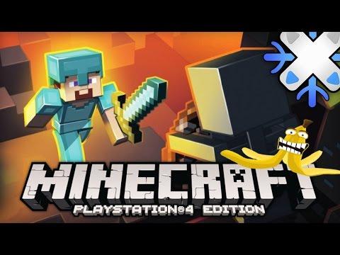 Minecraft PS4 Du PvP à la manette