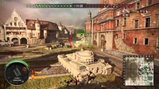 World of Tanks PS4 FV215b 9.3k Damage Gameplay