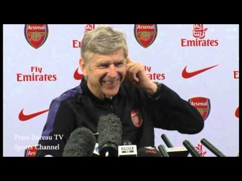 Arsene Wenger Press Conference Pre Aston Villa