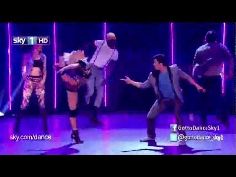 Kimberly Wyatt  We Found Love  with Adam Garcia (Live At GTD 2012)