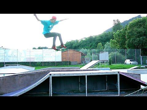 Hardest Flip Trick Ever | Tre Flip Late Laser Flip