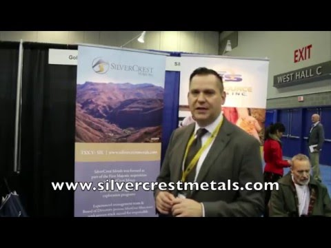 #SilverCrest Metals  (TSXV:  $SIL.V) at #VRIC16;  Presentation & #Goldseek.com Commentary