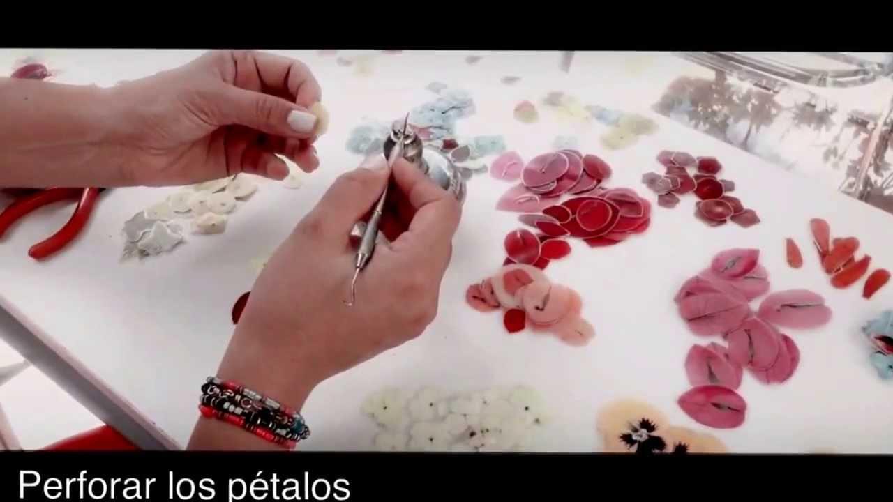 Pistilo accesorios como hacer unos aretes de flores - Como hacer ambientadores naturales ...