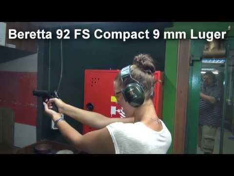 BERETTA 92 FS COMPACT FIRST SHOOTING