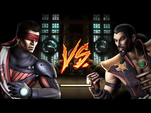 Mortal Kombat 9 TAG Ladder на ПК - Kenshi & Freddy Krueger