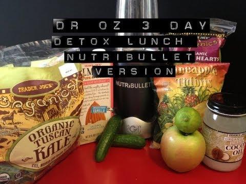 Dr. Oz 3-Day Detox Cleanse