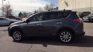2017 Toyota RAV4 Hybrid Monument, Pueblo, Castle Rock, Woodland Park, Colorado Springs, CO P426A