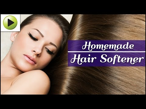 Natural Homemade Hair Softener