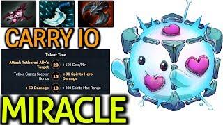 Miracle- Carry IO Build ft Team Liquid Play Pub Dota 2 7.09