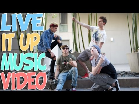LIVE IT UP (OFFICIAL MUSIC VIDEO) - RICKY DILLON