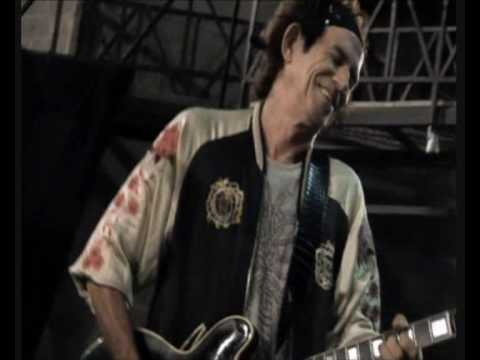 Keith Richards Guitar Solo - Slipping Away - Alcatraz Rehearsals - Italy