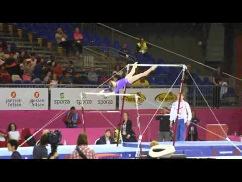 Anastasia GRISHINA RUS, Bars Senior Qualification, European Gymnastics Championships 2012