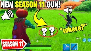 I Pretended I'm Playing in SEASON 11 in Fortnite