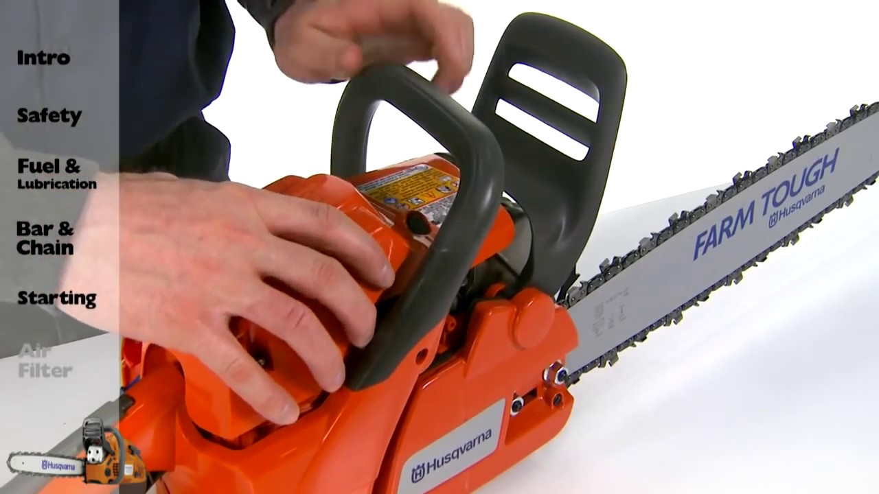 Husqvarna Chainsaws - Air Filter