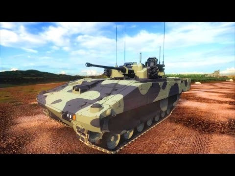 General Dynamics UK - Ajax Infantry Fighting Vehicle Simulation [720p]