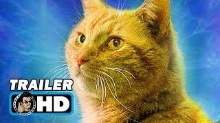 CAPTAIN MARVEL (2019) Goose the Cat TV Spot Trailer [HD]