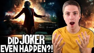 Was The Joker Movie Real or Fake?!